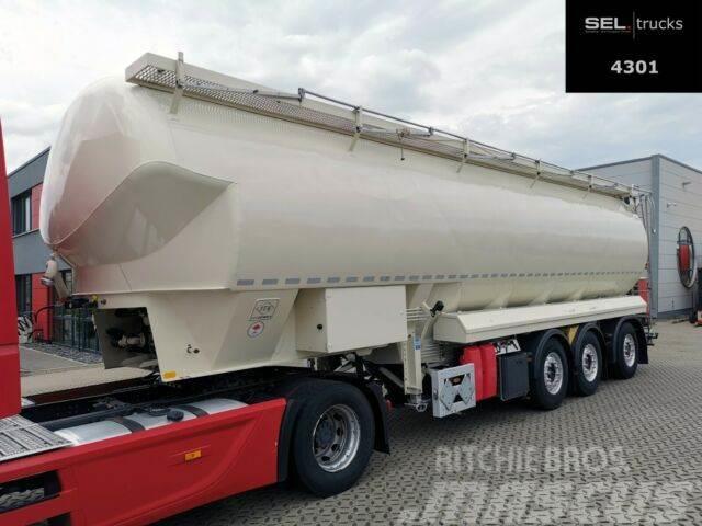 Feldbinder EUT 52.3 / 52.000 l / Lenkachse / Liftachse
