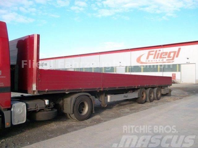 Rub Baustoffe used fliegl sds 350 baustoff flatbed dropside semi trailers year