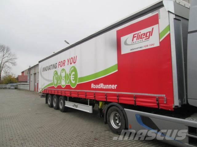 Fliegl SDS 350 Gardine Standard