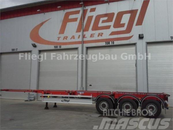 Fliegl SDS 380 Containerchassi starr gerade 40 f