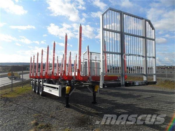 Fliegl SDS 380 für Holztransport