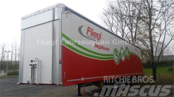 Fliegl SDS 390 Gardine Mega mit QuickLock + FreeLoad
