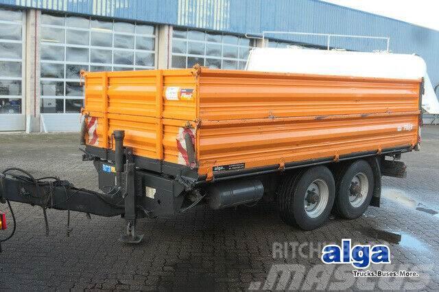 Fliegl TSK 100/3 Seiten Kipper/ Stahl/Blattgefedert