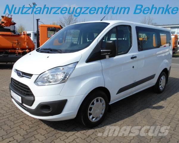 used ford transit custom kombi 6 sitzer klima ahk euro6 mini bus year 2017 price 23 878 for. Black Bedroom Furniture Sets. Home Design Ideas