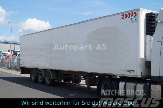 Fruehauf Chereau Kühlkoffer Tiefkühler Carrier SMB-Achsen