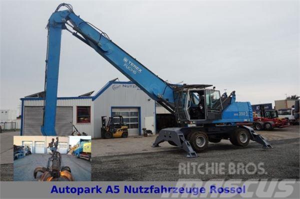 Fuchs MHL 350 D Umschlagbagger 16m Greifer SBL
