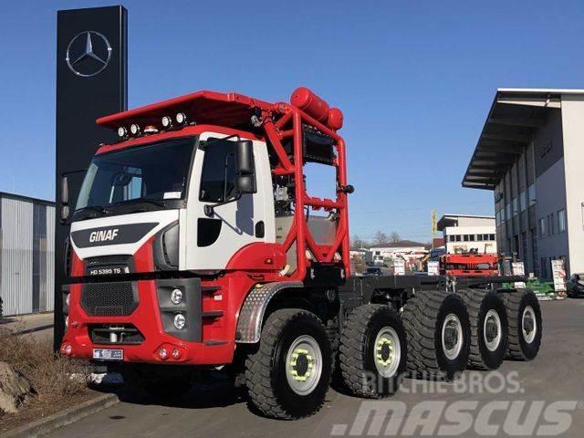 Ginaf HD5395 TS 10x6 Kipper-Fahrgestell 95.000kg