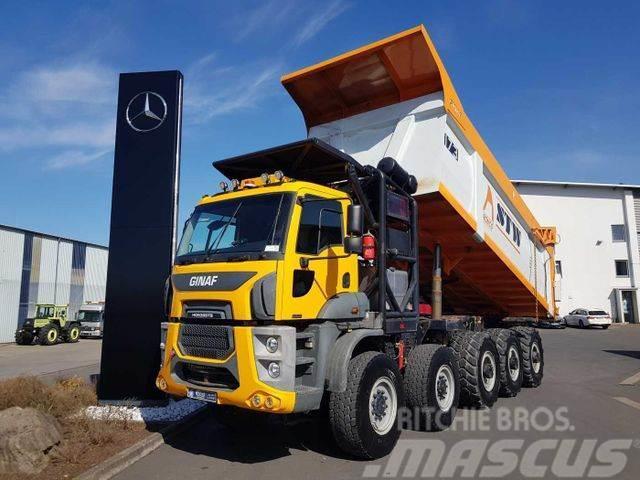 Ginaf HD5395 TS 10x6 Kipper 95.000kg
