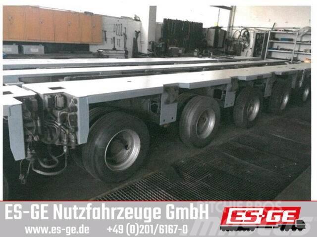 Goldhofer 4-Achs-Fahrwerk 4x12 t THP-UT