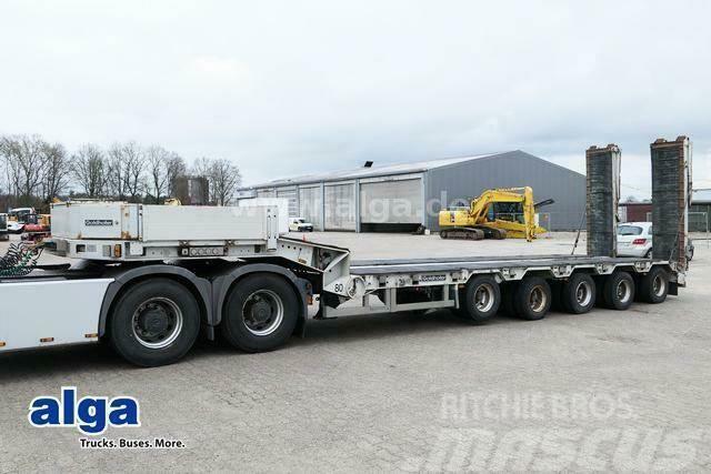 Goldhofer STZ-L5-53/80, 2-5 Achse gelenkt, hydr. Rampen