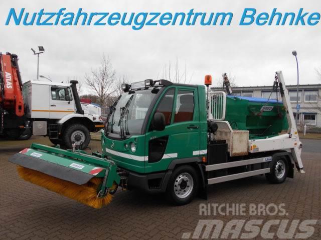 Hako M27c 4x4 Winterdienst Schild/Streuer/Besen
