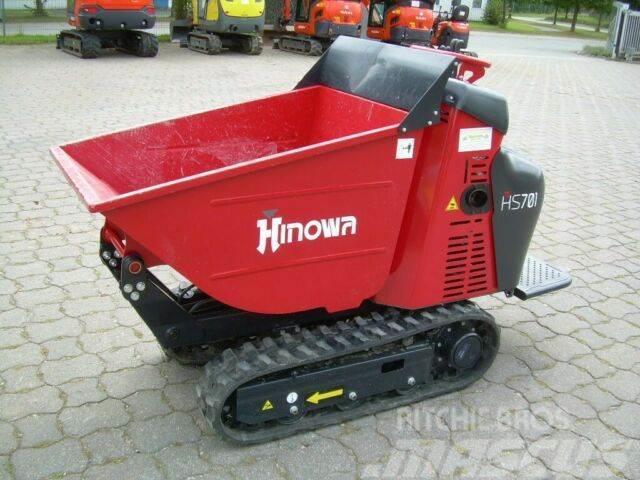 Hinowa HS 701, mit Standardmulde, Dumper, Honda GX 270