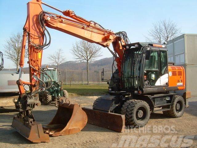 Hitachi ZX 140W-6, Bj. 18, 2500 BH, VA, Schild Pratze