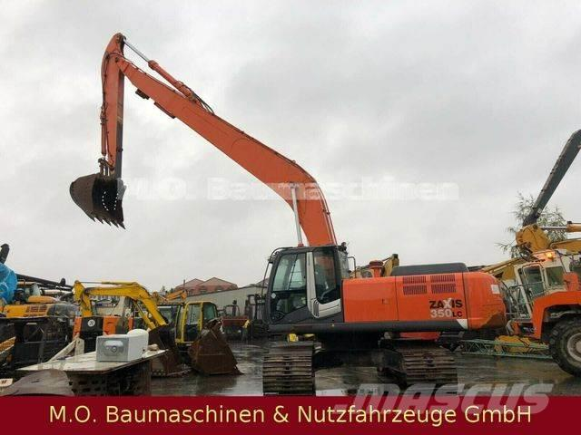 Hitachi ZX 350 LC-3 /Böschungsbagger -Langarm Front boom