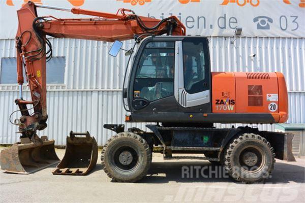 Hitachi ZX Zaxis 170 W MS 10 TL hydr GRL Panolin