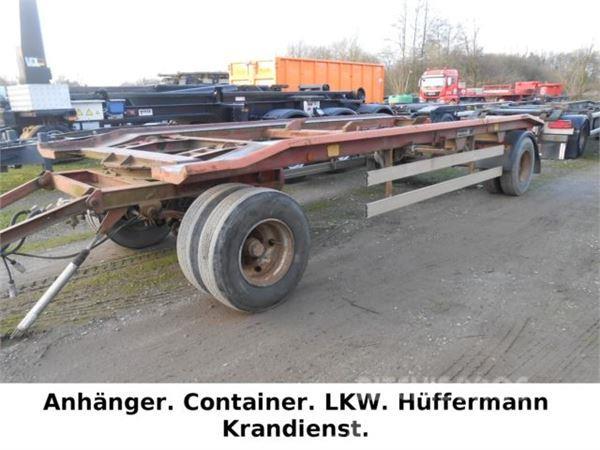 Hüffermann 2-achs Abrollanhänger / HARRAS 18.65