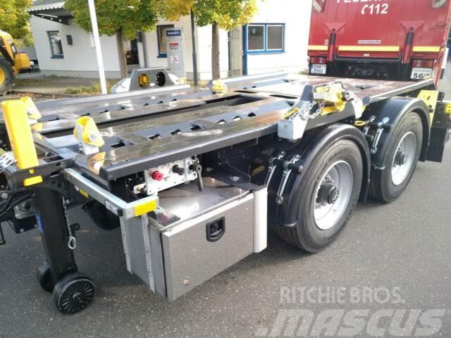Hüffermann 2-ACHS-MINI-CARRIER Safetyfix verzinkt NEU