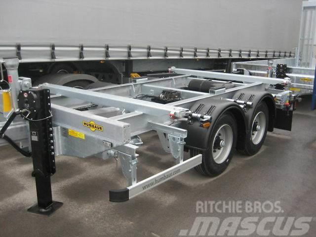 Humbaur 10 Fuß Tandem-Containerfahrgestell