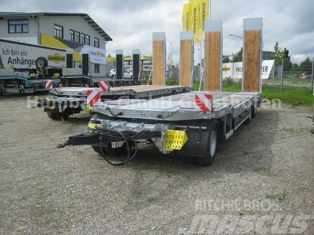 Humbaur 3-A-Tieflader, Luftfederung, Verzinkt, 3-M Paket