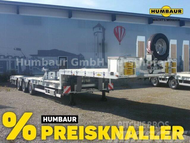 Humbaur 3-Achs Sattel SAF Liftachse Lenkachse Container