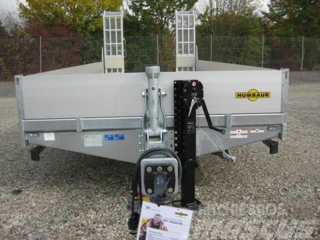 Humbaur HBT 107224 BS/GERADE/FEUERVERZINKT/ALU-Bordwände