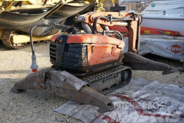 Husqvarna DXR270 Demolition robot with equipment