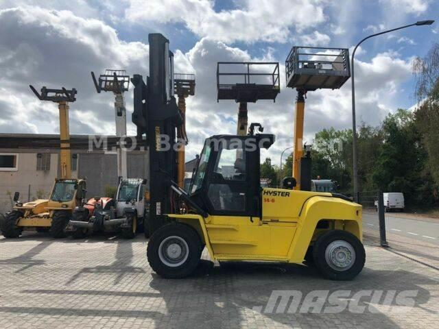 Hyster H14-600 XM-6 / ZV /SS / Klima / Tragkraft 14t