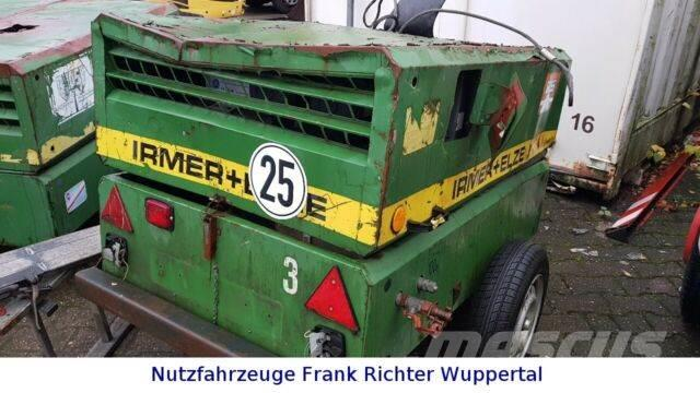 Irmer+Elze + Elze Baukompressor, 3 Zylinder
