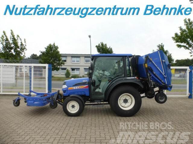 Iseki TG 5390 AHL Hydro Frontmähwerk+Gras-/Laubsauger