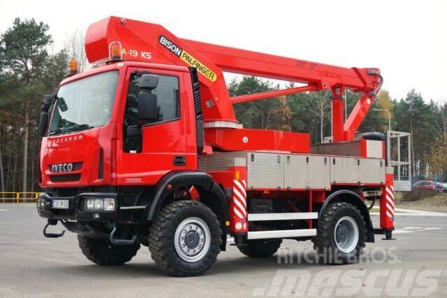 Iveco 100 4X4 PALFINGER BISON TKA 19 KS