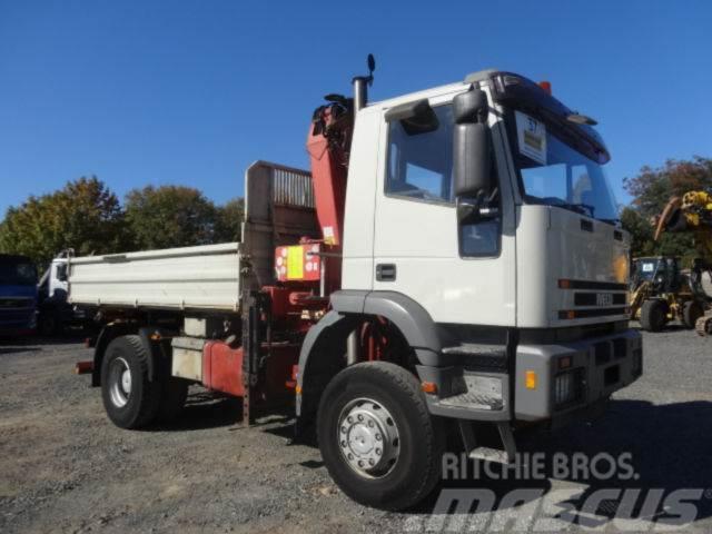 Iveco 190EH/HLK105 Faltkran/320Tsd/4x4/Meiller