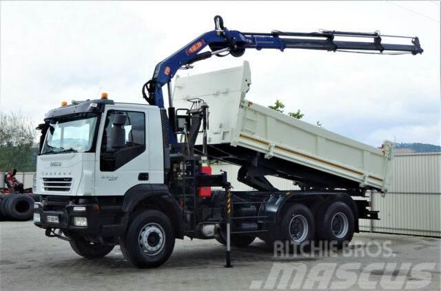 Iveco 330 Kipper 5,10m +Bordmatic/Kran*6x4*Topzustand