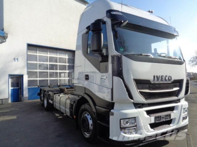 Iveco AS260SY 6x2, ATL, BDF Wechselfahrgestell Euro6