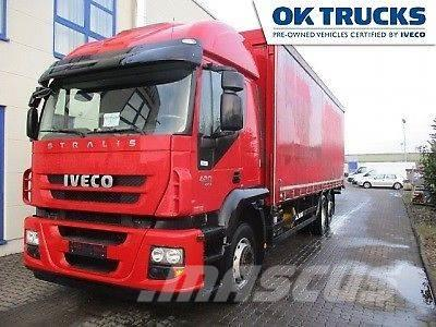 Iveco AT260S42 6x2Pritsche/Plane