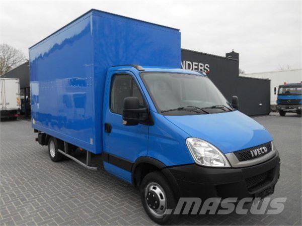 Iveco Daily 35C11 Koffer mit Ladebordwand