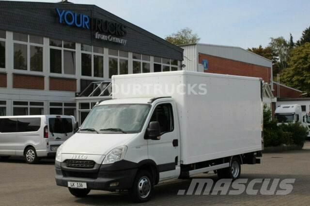 Iveco Daily 35C13 Koffer/Klima/LBW/Zwillingsbereifung
