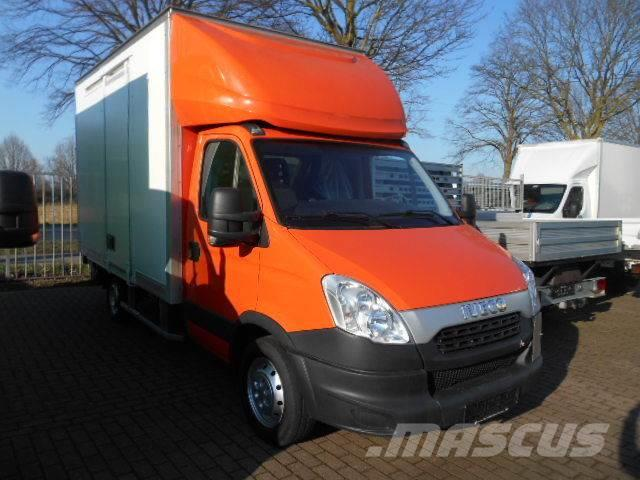 Iveco Daily 35S13 Koffer mit Ladebordwand