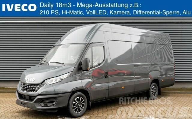Iveco Daily 35S21HA8V/18m3/3.0/210 PS/Hi-Matic