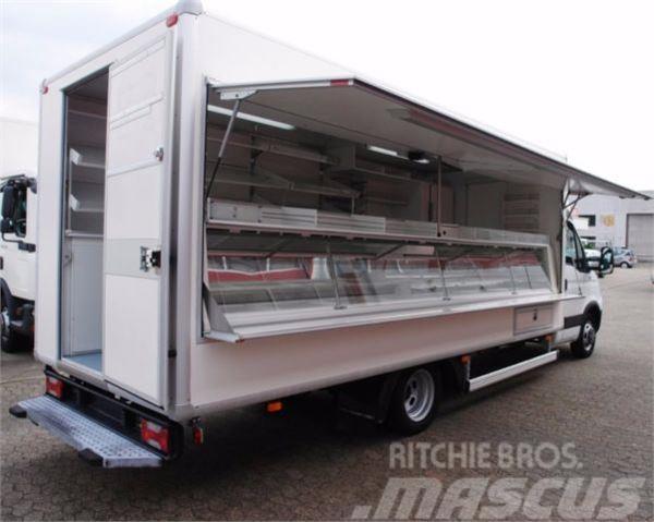Iveco Daily 50C15 Verkaufswagen Kühltheke 5 Meter TÜV!