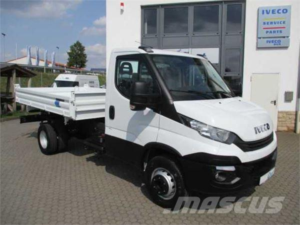Iveco Daily 65 C 15 Klima+AHK Kranvorbereitung_tipper trucks Year of ...