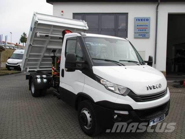 Iveco Daily 65 C 15 Meiller Fassi F40 Funk Klima AHK