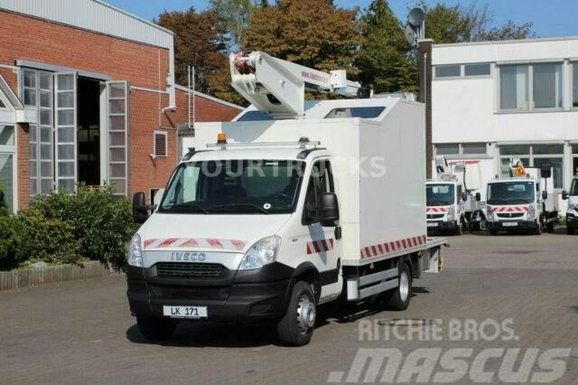 Iveco Daily 65C17 Bühne/16m/2 P.Korb 200kg/Kompressor