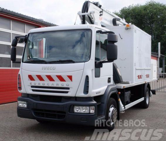 Iveco Eurocargo 150E22 A.bühne 18m Korb 200kg TÜV UVV