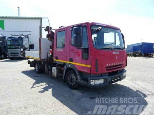 Iveco EUROCARGO 80E18 with hydraulic crane, E4,vin 750