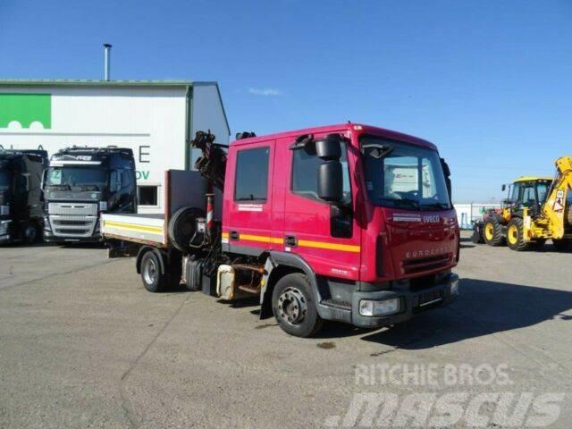 Iveco EUROCARGO 80E18 with hydraulic crane, E4,vin 852