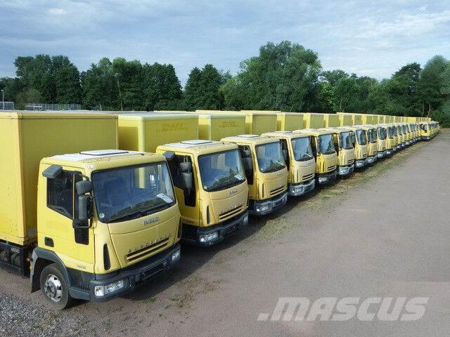 Iveco EuroCargo ML 75 E 16 P LBW Koffer 5,4x2,20m, HLB