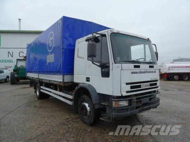 Iveco EUROCARGO ML150E18 with plane,manual,EURO 2, 163
