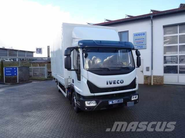 iveco eurocargo ml75e16 4x2 pritsche plane lbw neu pickup. Black Bedroom Furniture Sets. Home Design Ideas