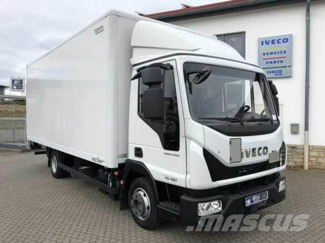 Iveco Eurocargo ML75E19 4x2 Koffer + LBW Klima