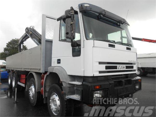 Iveco Eurotrakker 330E34 8X4**KRAN FASSI 190A23**